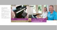 4-Seiter für die Produktreihe Clavinova CVP Print