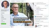 Facebook-Auftritt 2019